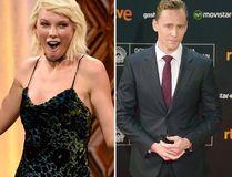 """Tom Hiddleston and Taylor Swift. (<A HREF=""""http://www.wenn.com"""" TARGET=""""newwindow"""">WENN.COM</a>)"""