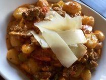 Italian Sausage & Summer Vegetable Gnocchi