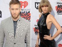 "Calvin Harris and Taylor Swift. (<A HREF=""http://www.wenn.com"" TARGET=""newwindow"">WENN.COM</a>)"