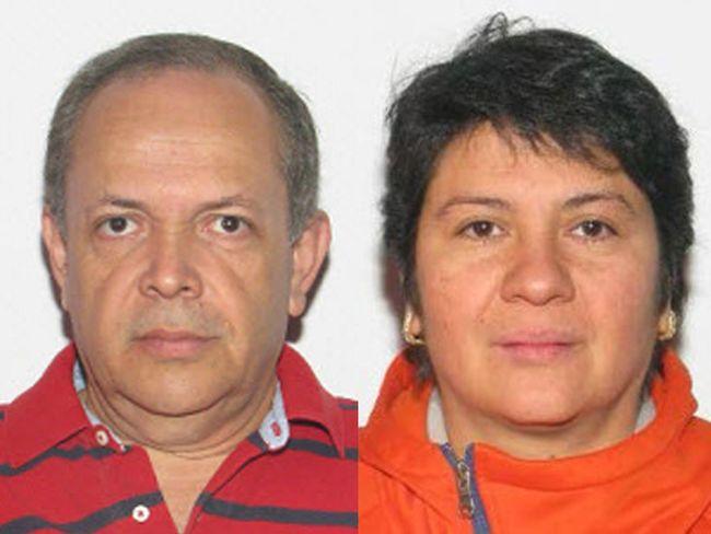 Investigators are searching for Allan Edgardo Perdomo Lopez, 56, and Carolina Del Carmen Perdomo, 49, who are considered people of interest in the death of Eneas Emilio Perdomo in 2015.