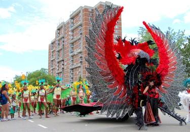The Junior Carnival parades through Scarborough on Saturday, July 16, 2016 (Nick Westoll/Toronto Sun/Postmedia Network)
