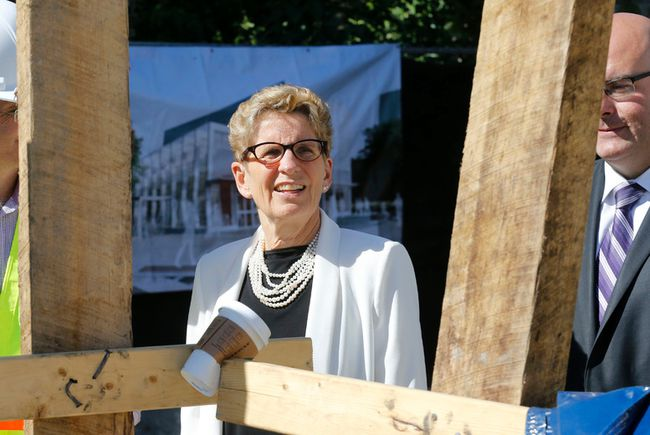 Premier Kathleen Wynne. (Michael Peake/Toronto Sun)