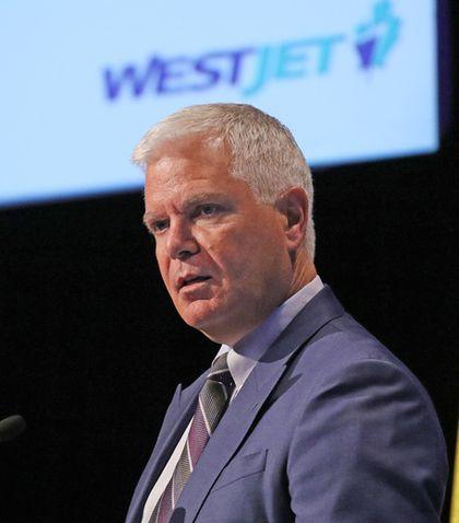 WestJet CEO Gregg Saretsky
