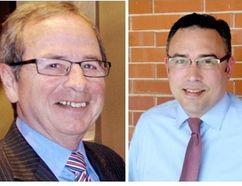 Michael Burton and Stuart McFadden