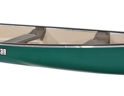 Pelican-brand canoe