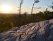 Jim Moodie/Sudbury Star Late sunlight burnishes the quartzite flank of Willisville Mountain.