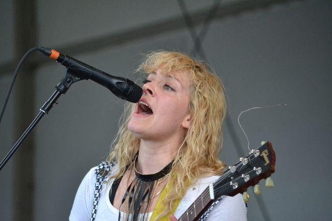 Laurel Sprengelmeyer, fronting Little Scream from Montreal. Postmedia file photo