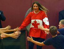 Olympian Natalie Spooner says the Canadian Women's Hockey League is gaining popularity. (Postmedia Network file photo)