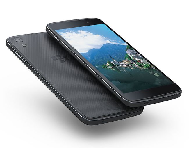 BlackBerry's DTEK50. (Supplied)