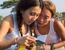 Kelly Xu and Kate Pan