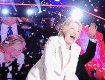 Democratic presidential nominee Hillary Clinton