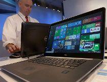 Dell laptop computer running Windows 10