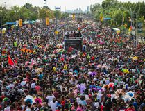 Toronto Caribbean Carnival parade along Lake Shore Blvd W. in Toronto on July 30, 2016. Ernest Doroszuk/Toronto Sun/Postmedia Network
