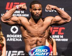Tyron Woodley defeated Robbie Lawler at UFC 201 in Atlanta on Saturday night. (Carmine Marinelli/Postmedia Network/Files)