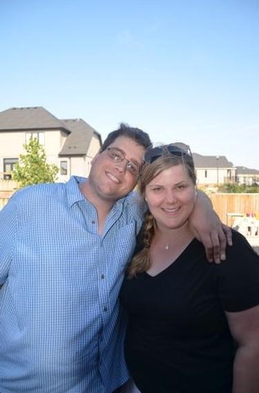 Jeremy Gubbels and his sister Amanda Gubbels.