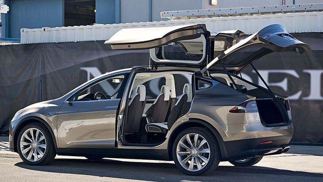 Tesla Model X luxury SUV. (Tesla/Supplied)