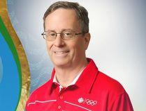 CBC swimming commentator Byron MacDonald. (CBC Photo)