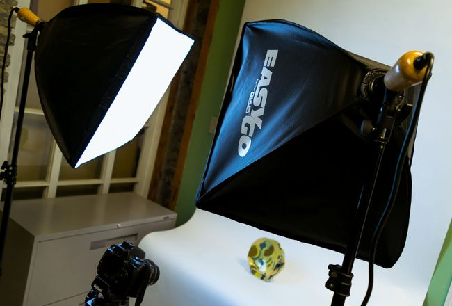 Photo by Saud Haseeb The new QAC mini-studio.