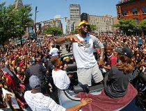 Cleveland Cavaliers' LeBron James