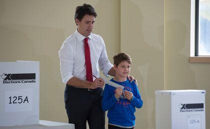 Trudeau votes