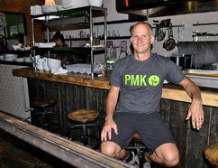 Glenn Whitehead, founder of Plant Matter Kitchen, at the new restaurant in London Ont. August 11, 2016. CHRIS MONTANINI\LONDONER\POSTMEDIA NETWORK