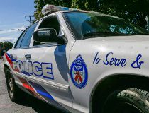 Toronto Police cruiser car lights