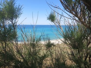 Sardinian coastline near Tharros ruins in Cabras. (Rita DeMontis/Toronto SUN)