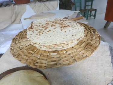 Freshly made bread in Su Gologone resort. (Rita DeMontis/Toronto SUN)