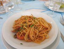 Pasta in Sardinia. (Photo: Rita DeMontis)