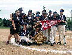 The Simcoe Braves squirt softball team captured the OASA 'C' championship last season. Contributed Photo