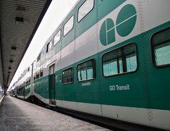 GO Transit trains at Union Station in Toronto. (Postmedia Network file photo)