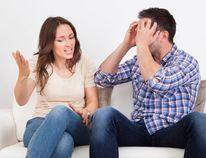 Boyfriend's social surveillance spells trouble. (Getty)