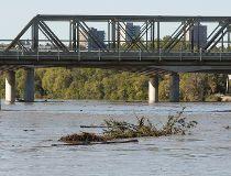 Water levels rising on the North Saskatchewan River in Edmonton