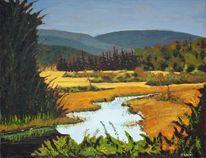 Jerry Albert oil painting.