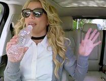 "Britney Spears on James Corden's ""Carpool Karaoke."""