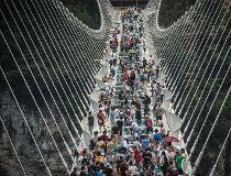 CHINA-TOURSIM-BRIDGE