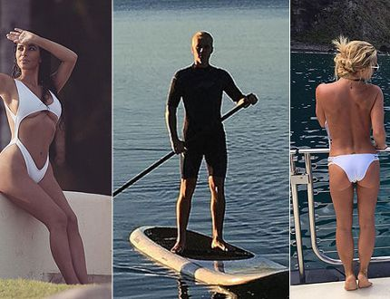 Celebrity Summer Photos