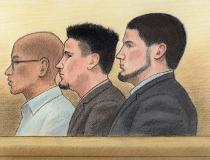 Terror trio: Suliman Mohamed, Ashton & Carlos Larmond