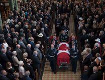 Funeral for Ottawa-Vanier MP Mauril Belanger