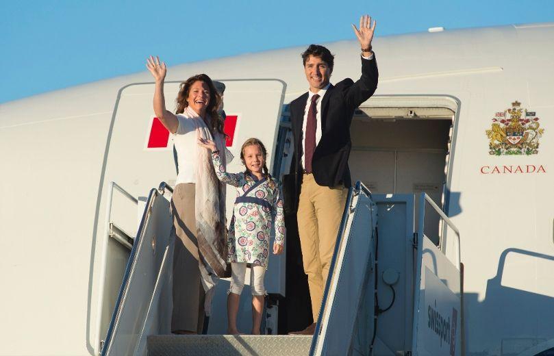 Trudeau plane