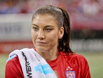 United States of America goalkeeper Hope Solo