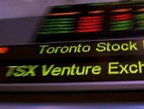 Toronto Stock Exchange ticker (CP)