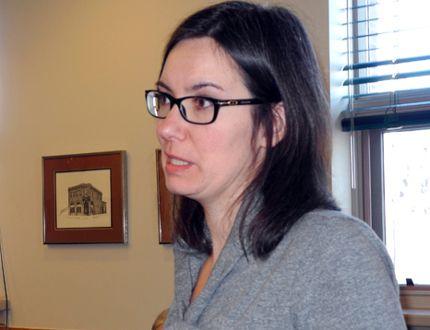 Transitions Initiative Kenora executive director Teika Newton