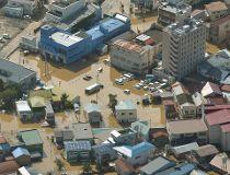 Typhoon Lionrock hits Japan_1