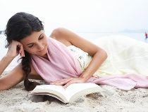 Reading on Beach