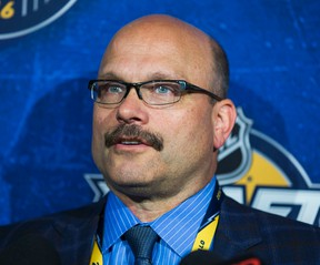 Edmonton Oilers GM Peter Chiarelli.