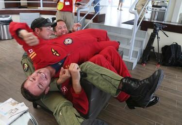 Media Day with the Canadian Forces Snowbirds on Thursday September 1, 2016. Veronica Henri/Toronto Sun/Postmedia Network