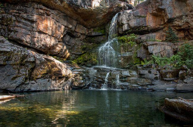 Morrissey Creek falls