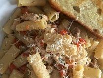 Lemon Herb Rigatoni w/ Chicken & Italian Sausage