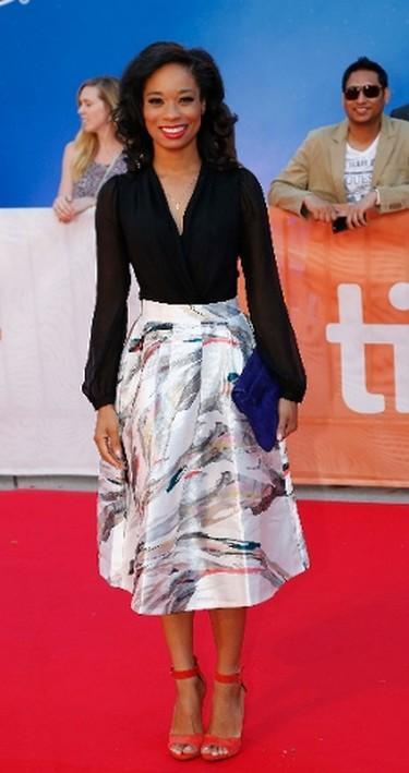 Terri Abney of the movie Loving at Roy Thomson Hall red carpet during the Toronto International Film Festival in Toronto on Sunday September 11, 2016. (Michael Peake/Postmedia Network)
